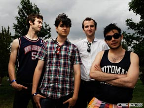 Vampire Weekend has earned a following for its upbeat, surf-laden songs.