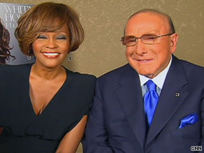 Whitney Houston has credited mentor Clive Davis, right, for her comeback after a seven-year absence.