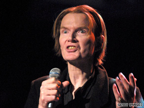 Poet, punk rocker and author Jim Carroll performs at a 2002 benefit in New York.