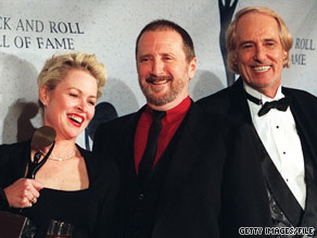 Michelle Phillips, Denny Doherty and John Phillips, here in 1998, were members of the Mamas & the Papas.