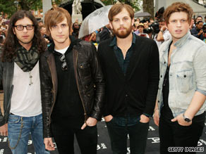 Kings of Leon is a family affair, consisting of three brothers and their cousin.
