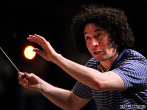 Gustavo Dudamel has been compared to the legendary Leonard Bernstein by one critic.