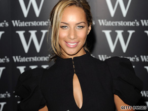 "Leona Lewis was signing copies of her book ""Dreams"" when a man assaulted her, police say."