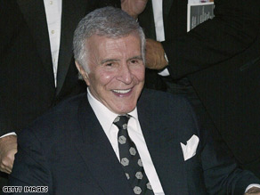 Ricardo Montalban attends the opening of a theater named for him in 2004 in Hollywood, California.