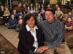Michelle and Jim Bob Duggar say they are grateful for their 18 children, and may have more.