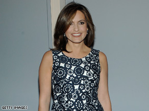 "Mariska Hargitay plays Olivia Benson on ""Law & Order: Special Victims Unit."""