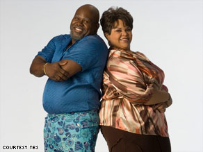 "David Mann and Tamela Mann -- a real-life couple -- star in ""Meet the Browns"" as father and daughter."