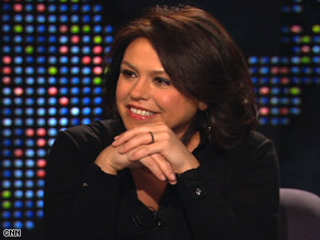 "Rachael Ray visits ""Larry King Live"" on Monday night to give tips on stretching a family's food dollar to the max."