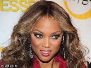 """American's Next Top Model"" is hosted and produced by supermodel Tyra Banks."