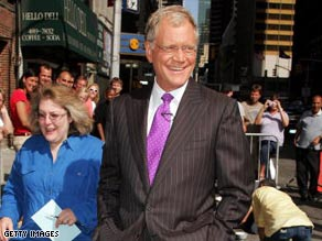 "Late-night host David Letterman says he ""avoided getting married for ... 23 years."""
