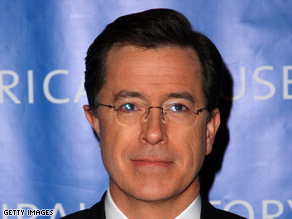 "Stephen Colbert threatened NASA that he might become ""space's evil tyrant overlord."""