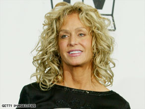 Farrah Fawcett, shown here in 2004, was first diagnosed with cancer in 2006.