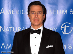 "Stephen Colbert has threatened to become ""space's evil tyrant overlord"" if he doesn't get his way."