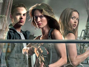 "Thomas Dekker, Lena Headey and Summer Glau star in ""Terminator: The Sarah Connor Chronicles."""