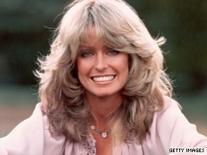 "Farrah Fawcett rose to fame in the 1970s, thanks to a best-selling poster and the hit show ""Charlie Angels."""