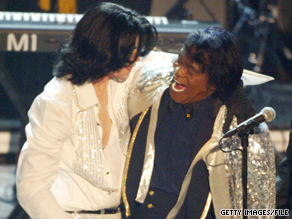 Michael Jackson performed with James Brown at the BET Awards in 2003. This year's show is dedicated to Jackson.