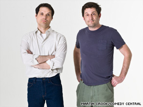 Michael Ian Black, left, and Michael Showalter have &quot;Issues&quot; in their new Comedy Central show.