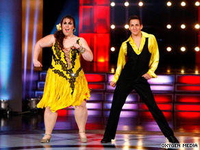 """Dance"" host Marissa Jaret Winokur (in pink) says viewers want to see themselves on television."