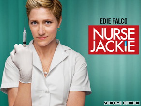 "Showtime's ""Nurse Jackie"" is one of the cable series providing a lift for summertime television viewing."
