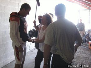 "Cincinnati Bengals quarterback Carson Palmer sizes up the situation on ""Hard Knocks."""