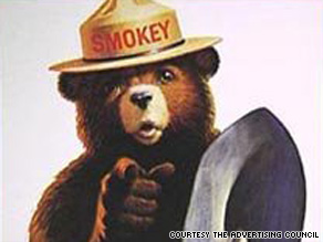 Smokey Bear, the Ad Council's most famous icon, has moved from 1940s posters to his own Facebook page.