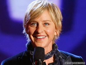 Talk show host Ellen DeGeneres brings years of experience in front of a live audience to her role.