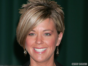 "Kate Gosselin made the first of her two guest co-host appearances on ""The View"" this morning."