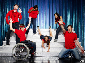 "The new show ""Glee"" had the backing of an innovative marketing campaign."