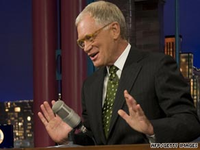 David Letterman has mined private events in his life for very public jokes on his show.