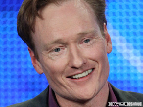 Talk show host Conan O'Brien is locked in a playful feud with the mayor of Newark, New Jersey.