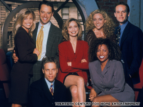 Ally McBeal and the gang are back with the release of the full series on DVD.