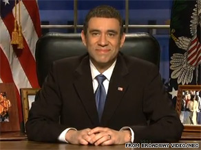 Fred Armisen played Barack Obama in a talked-about sketch Saturday night on &quot;Saturday Night Live.&quot;