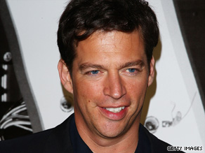 Harry Connick Jr. was visibly dismayed after watching an insensitive skit performance on an Australian show.