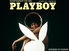Darine Stern's picture on the October 1971 cover served as the inspiration for Playboy's November 2009 cover.