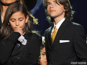 "Before their father's death, Michael Jackson's children, Paris, Prince and ""Blanket"" were not often seen in public."