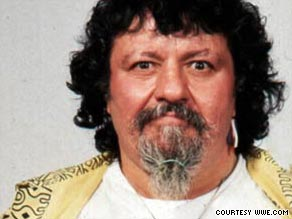 Captain Lou Albano reached a new level of fame in the '80s with his association with Cyndi Lauper.