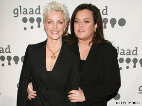 Rumors have been swirling that Kelli Carpenter, left, and Rosie O'Donnell are splitting.