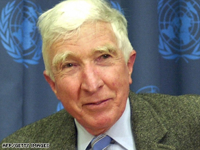 "John Updike won many literary awards. His books, such as ""The Witches of Eastwick,"" were also best-sellers."