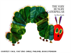 """""""The Very Hungry Caterpillar"""" by Eric Carle turns 40 this year, and 29 million copies of it have sold since 1969."""