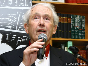 "Frank McCourt won the Pulitzer Prize and the National Book Critics Circle Award for ""Angela's Ashes."""