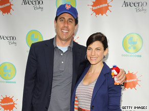 Jerry and Jessica Seinfeld attend an event in New York City in June.