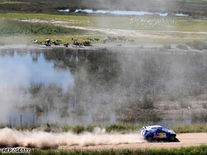 Sainz has grabbed the lead in the Dakar Rally after victory in the second special stage.
