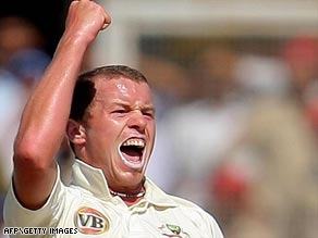 Australian paceman Peter Siddle claimed five victims in a Test innings for the first time.