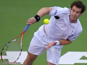 British number one Murray always looked in command as he opened his Qatar Open title defense with a win.