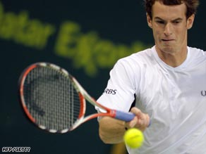 Murray was a study in concentration as he easily accounted for his German opponent in Doha.