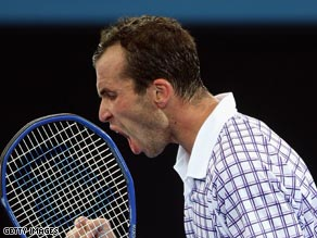 An inspired Stepanek was claiming his third career ATP Tour title.