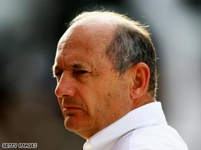Dennis masterminded Lewis Hamilton's title success last season.