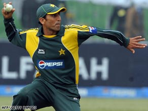 Younus Khan, above, has been appointed Pakistan captain after Shoaib Malik was relieved of the job.