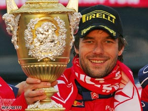 Loeb will be looking to win the world championship trophy for the sixth straight year.
