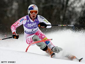 Vonn turns on the style to extend her lead in the overall World Cup standings.